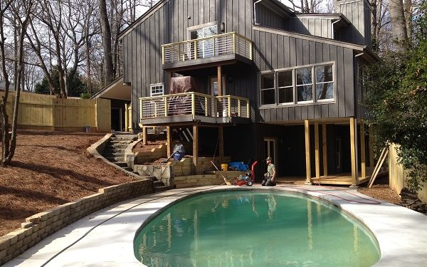 Deck and Patio Renovation on Skidaway Island