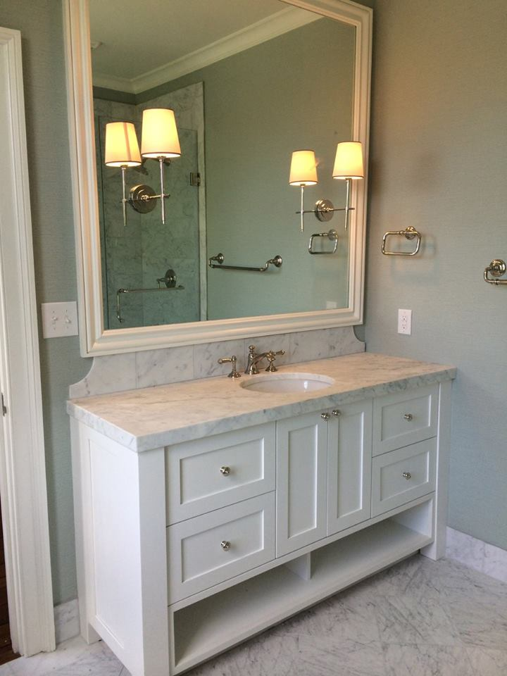 Custom built vanity Skidaway Island After