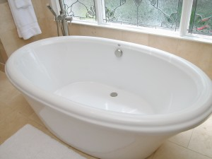 Sipper Tub Installed in Custom Bathroom Remodel in Savannah and Atlanta