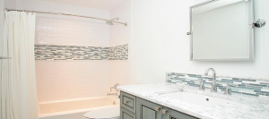 Bathroom Renovation from American Craftsman Renovations.